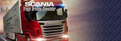 Scania Truck Driving Simulator The Game Logo