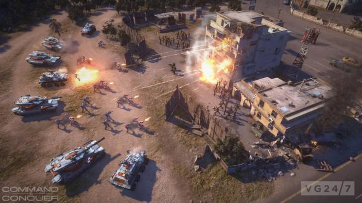 Facțiunile și opțiunile de customizare din Command and Conquer Generals 2