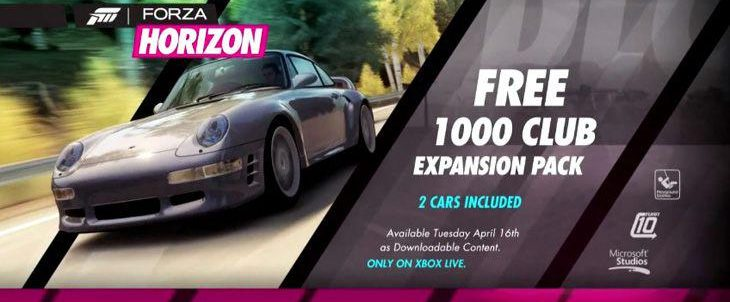 Forza Horizon - 1000 Club Expansion Pack Trailer