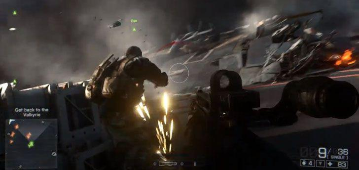 Battlefield 4 – Angry Sea Single Player Gameplay Video