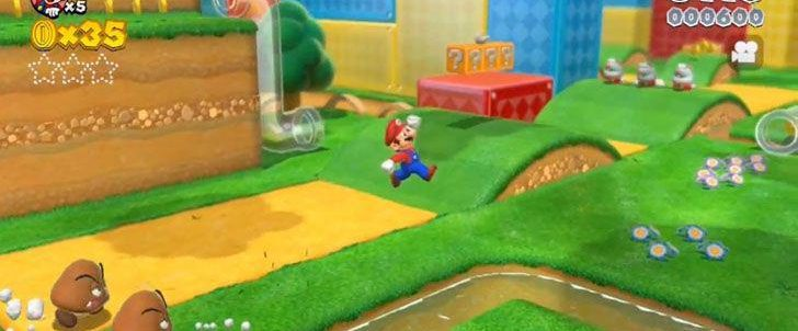 Super Mario 3D World - E3 Trailer