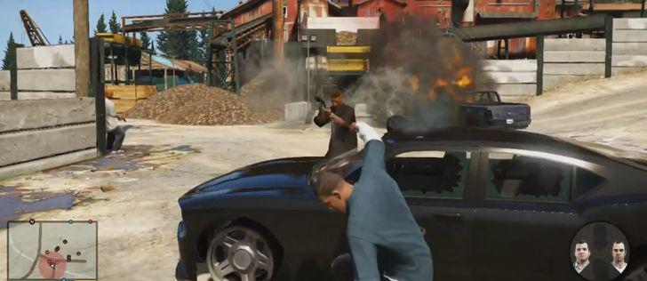 Grand Theft Auto V – Gameplay Video