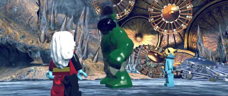 LEGO Marvel Super Heroes – Big Figure Trailer