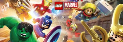 LEGO Marvel Super Heroes Logo dec