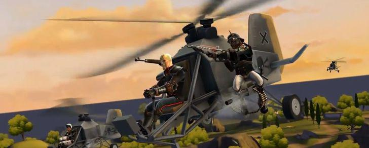 Battlefield Heroes – Helicopters have landed