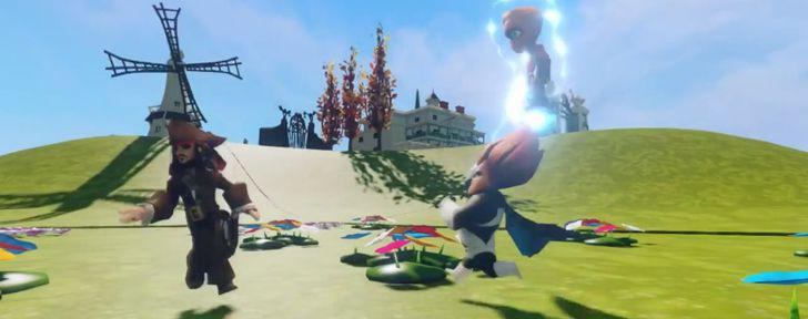 Disney Infinity - Toy Box Combat Trailer