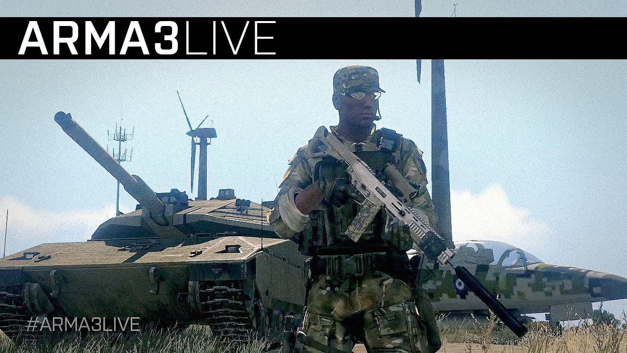 Arma III – Livestream Launch Sneak Preview