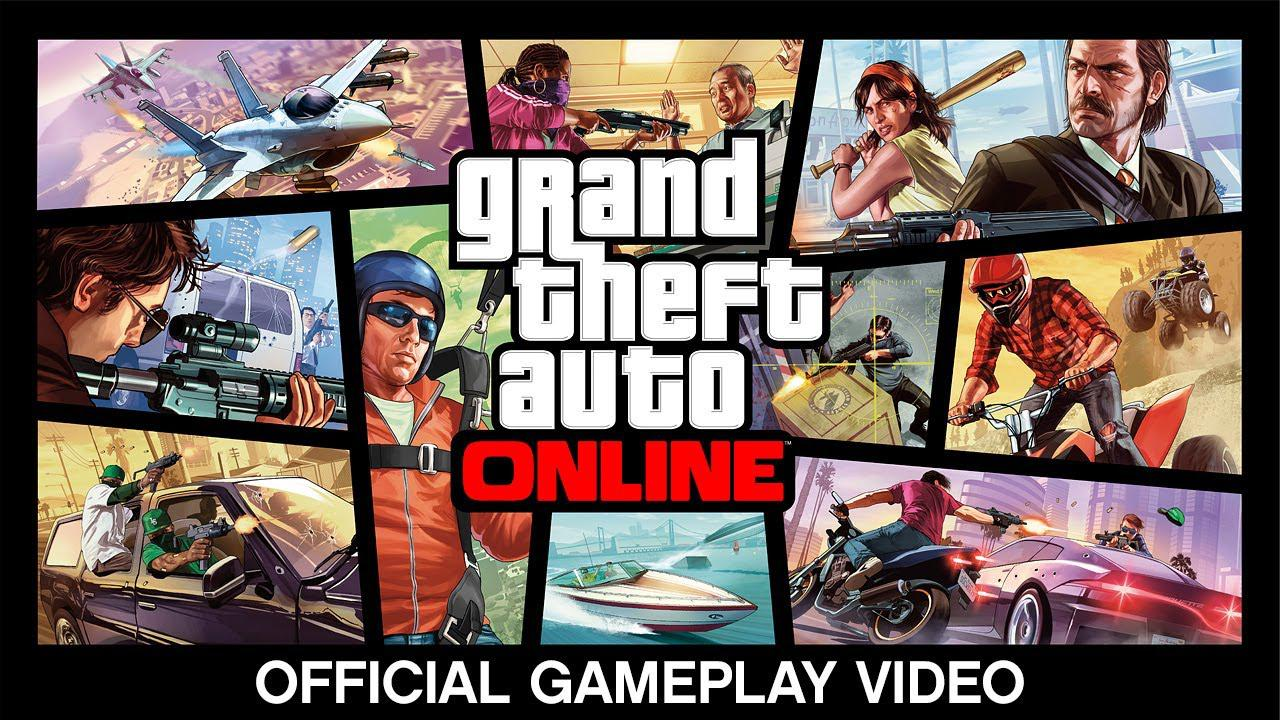 Grand Theft Auto Online – Gameplay Video