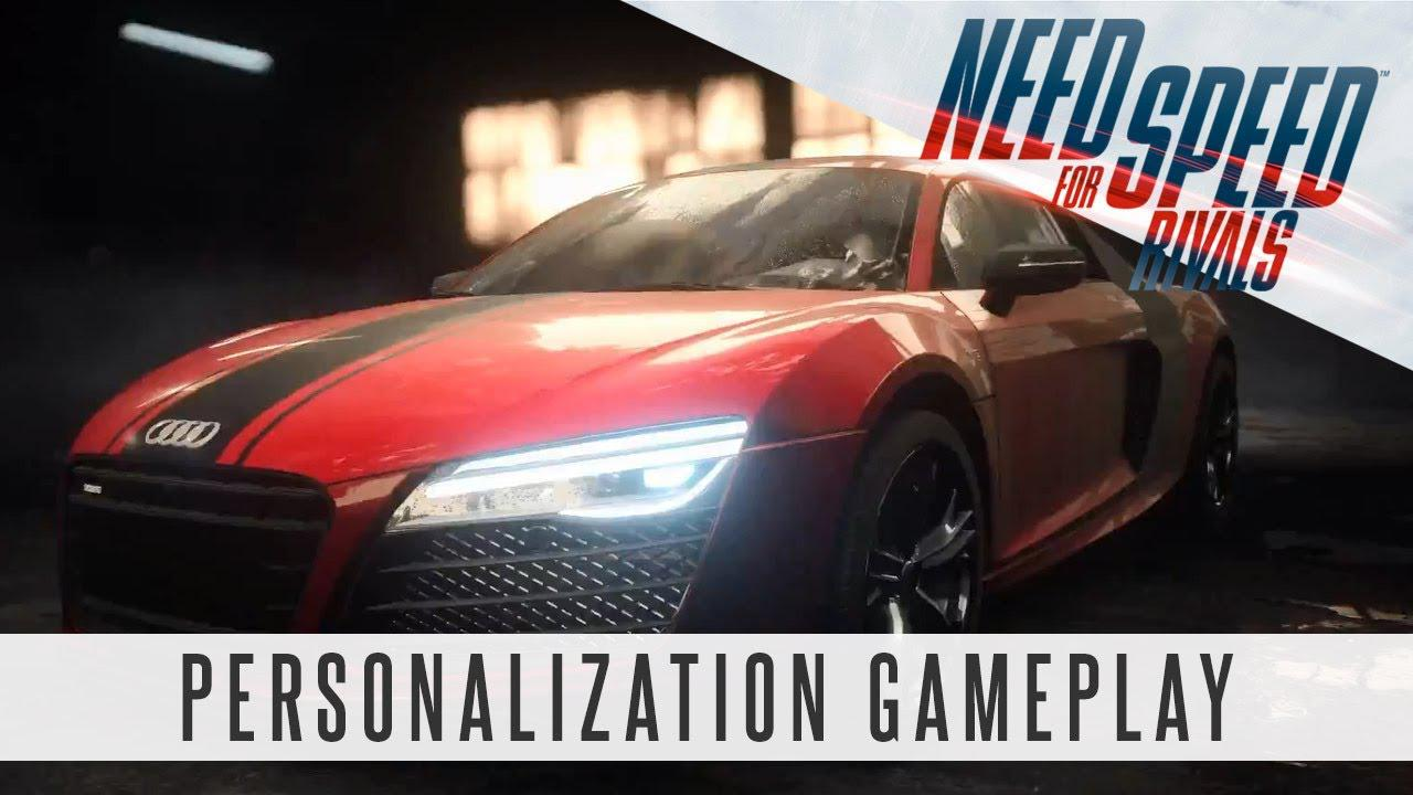 Need for Speed Rivals – Gameplay Racer Personalization Feature