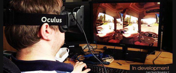 Euro Truck Simulator 2 primește suport Oculus Rift