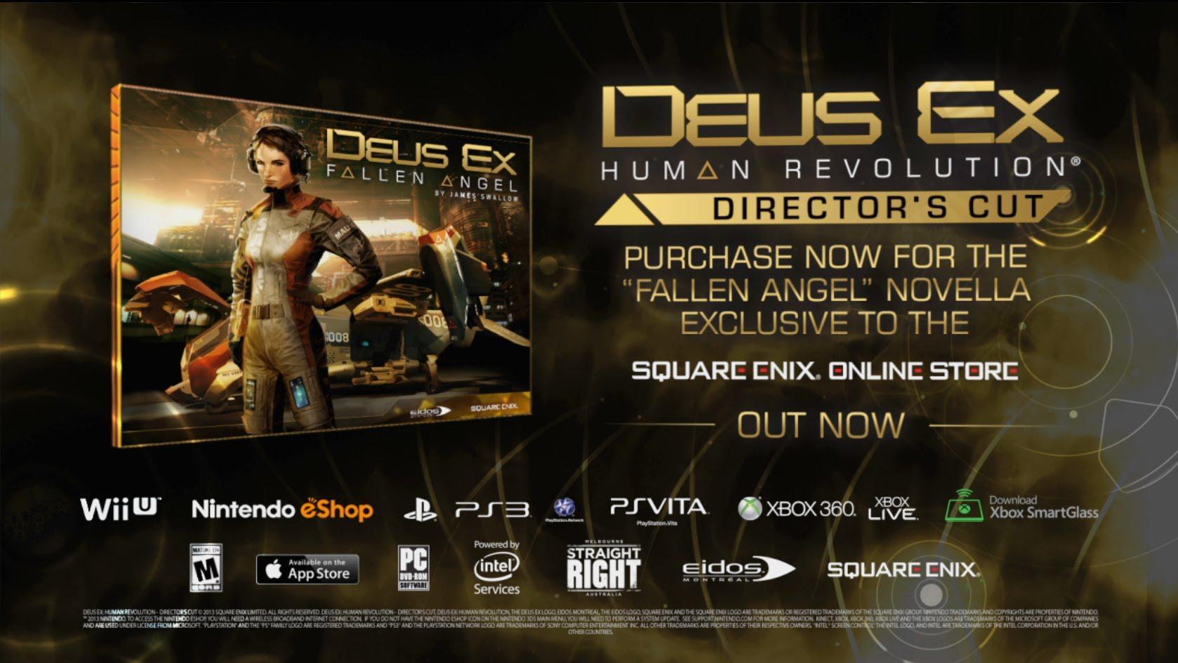 Deus Ex: Human Revolution – Director's Cut a fost lansat și prezintă îmbunătățirile în noul trailer