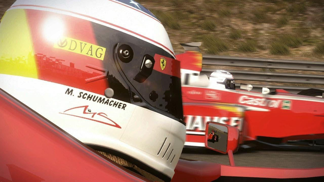 F1 2013 primește conținut clasic din 1990