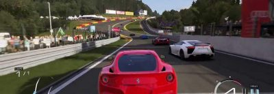 Gameplay la bordul lui Ferrari F12berlinetta în Forza Motorsport 5