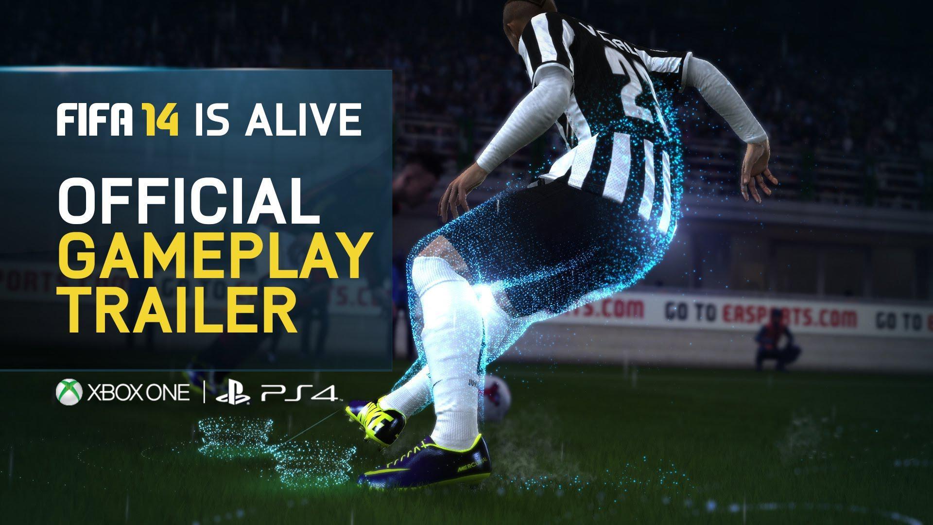 Gameplay next-gen pentru FIFA 14 ce ne prezintă realismul jocului