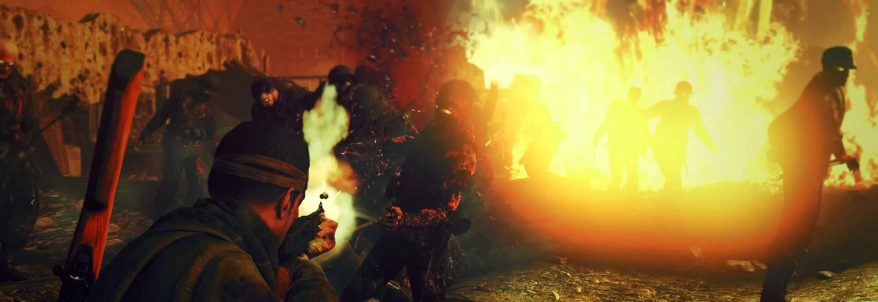 Gameplay slow motion pentru Sniper Elite: Nazi Zombie Army 2