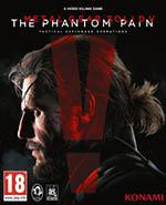 Metal Gear Solid 5 The Phantom Pain Box Art
