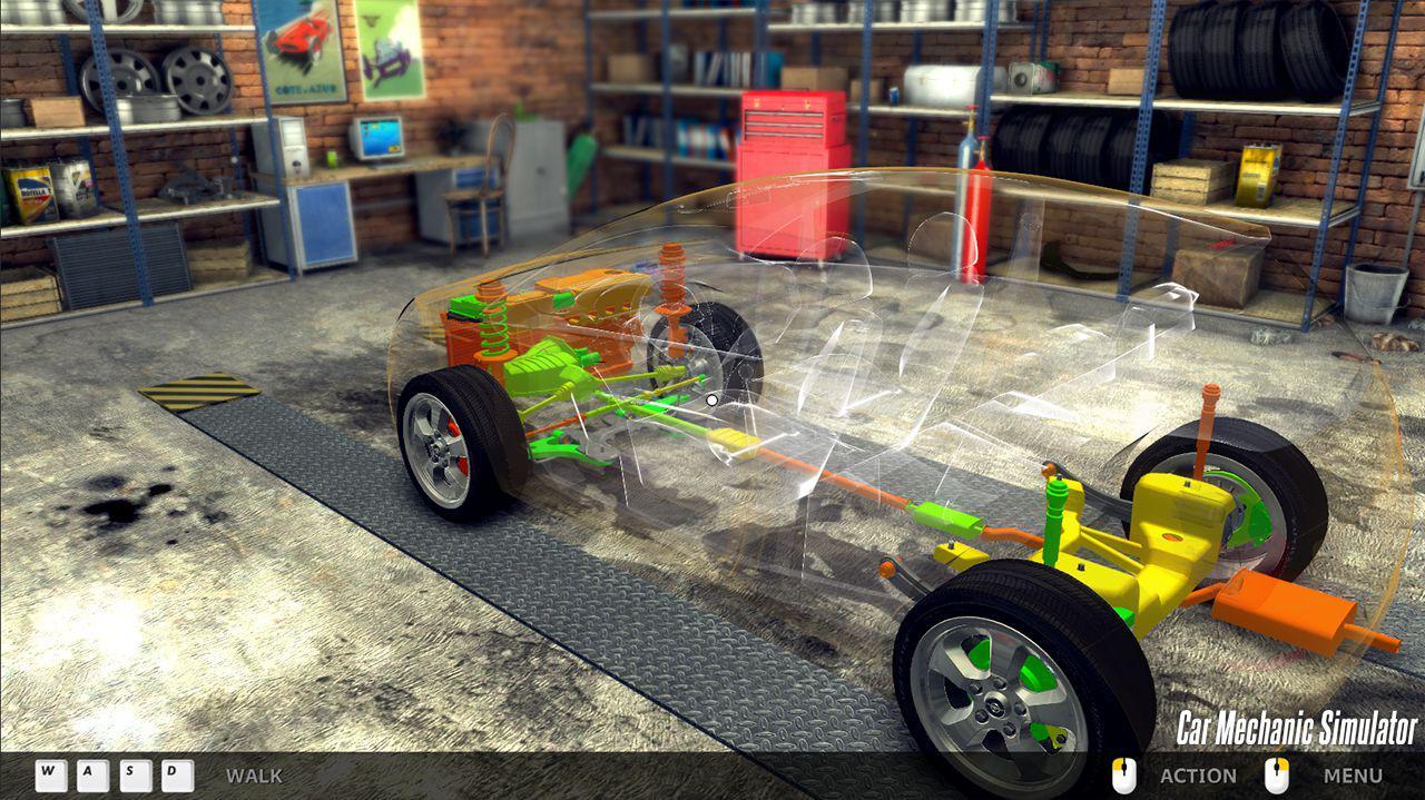 Imagini Car Mechanic Simulator 2014