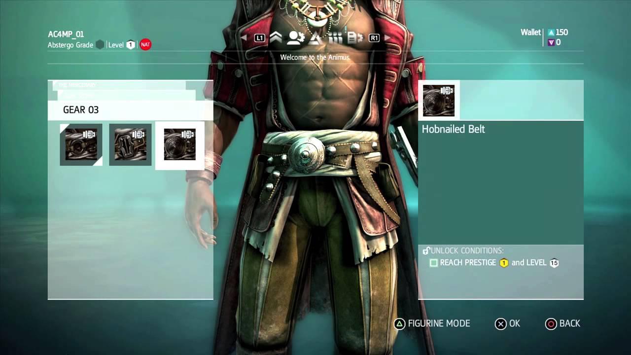 Caracteristicile din Multiplayer pentru Assassin's Creed 4: Black Flag