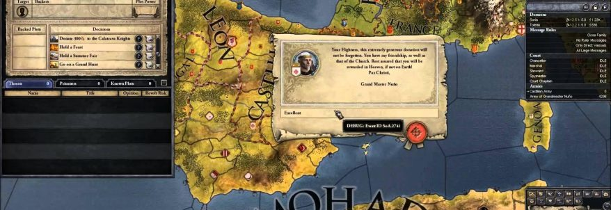 Crusader Kings 2: Sons of Abraham - Developer Diary 1