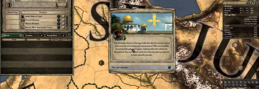 Crusader Kings 2: Sons of Abraham - Developer Diary 2