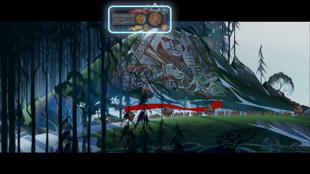 Dezvoltatorul prezintă The Banner Saga pas cu pas