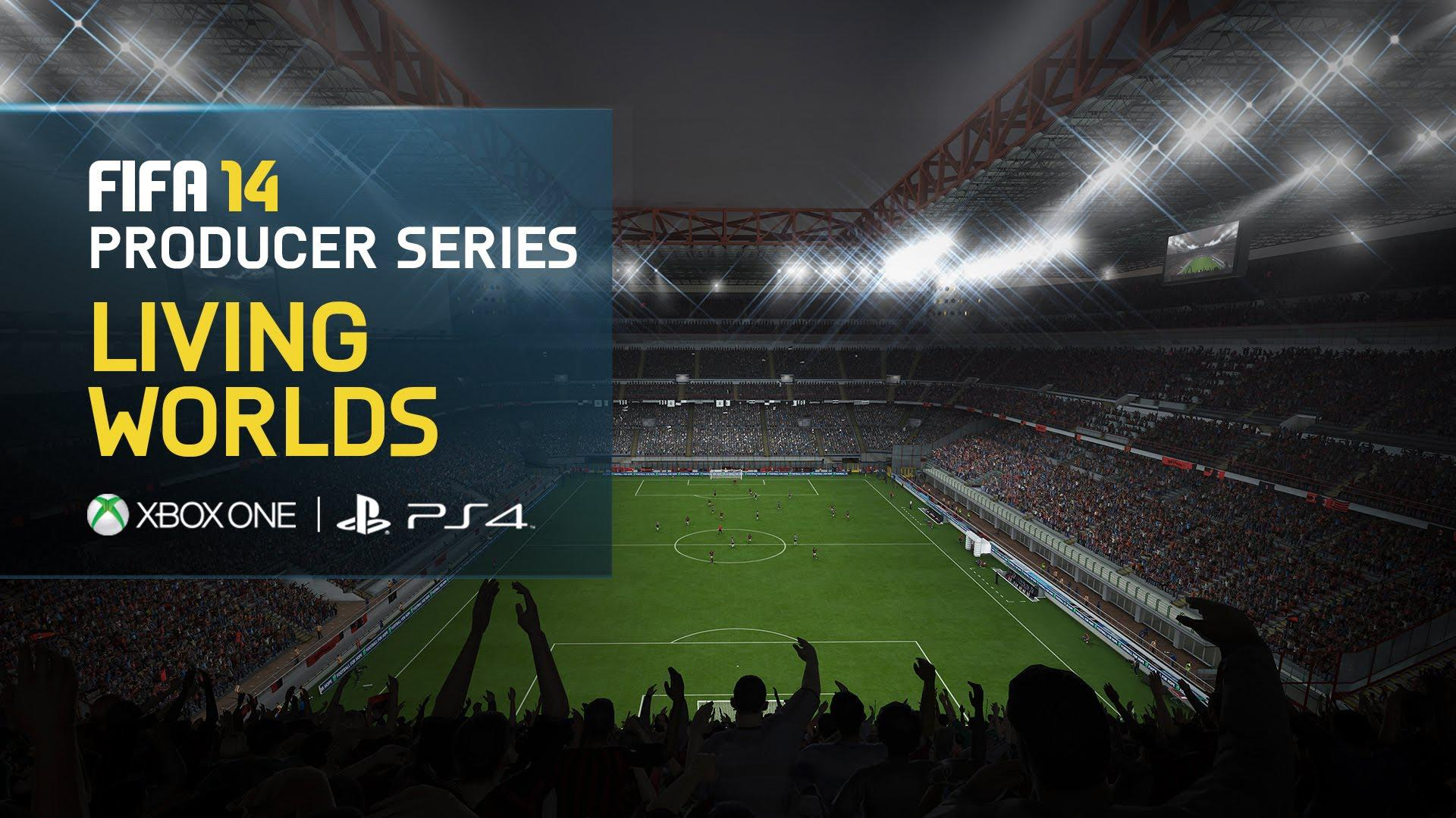Gameplay din FIFA 14 pe consolele next-gen