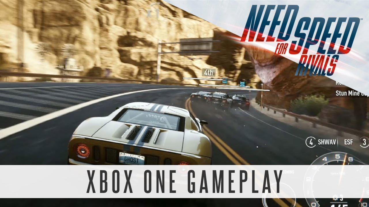 Gameplay din Need for Speed Rivals pe Xbox One