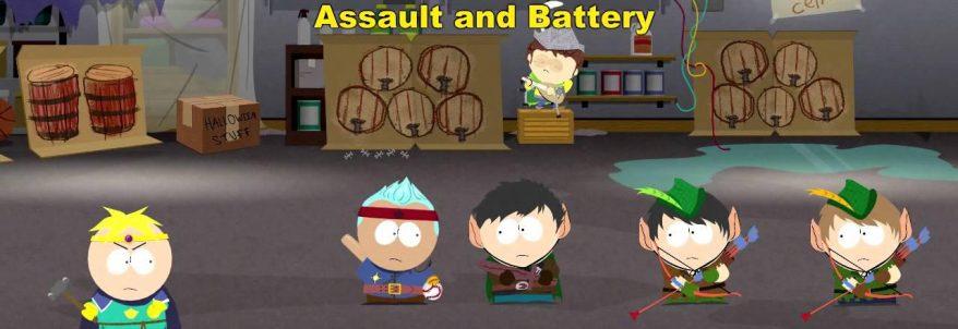 Gameplay pentru South Park: The Stick of Truth în Giggling Donkey