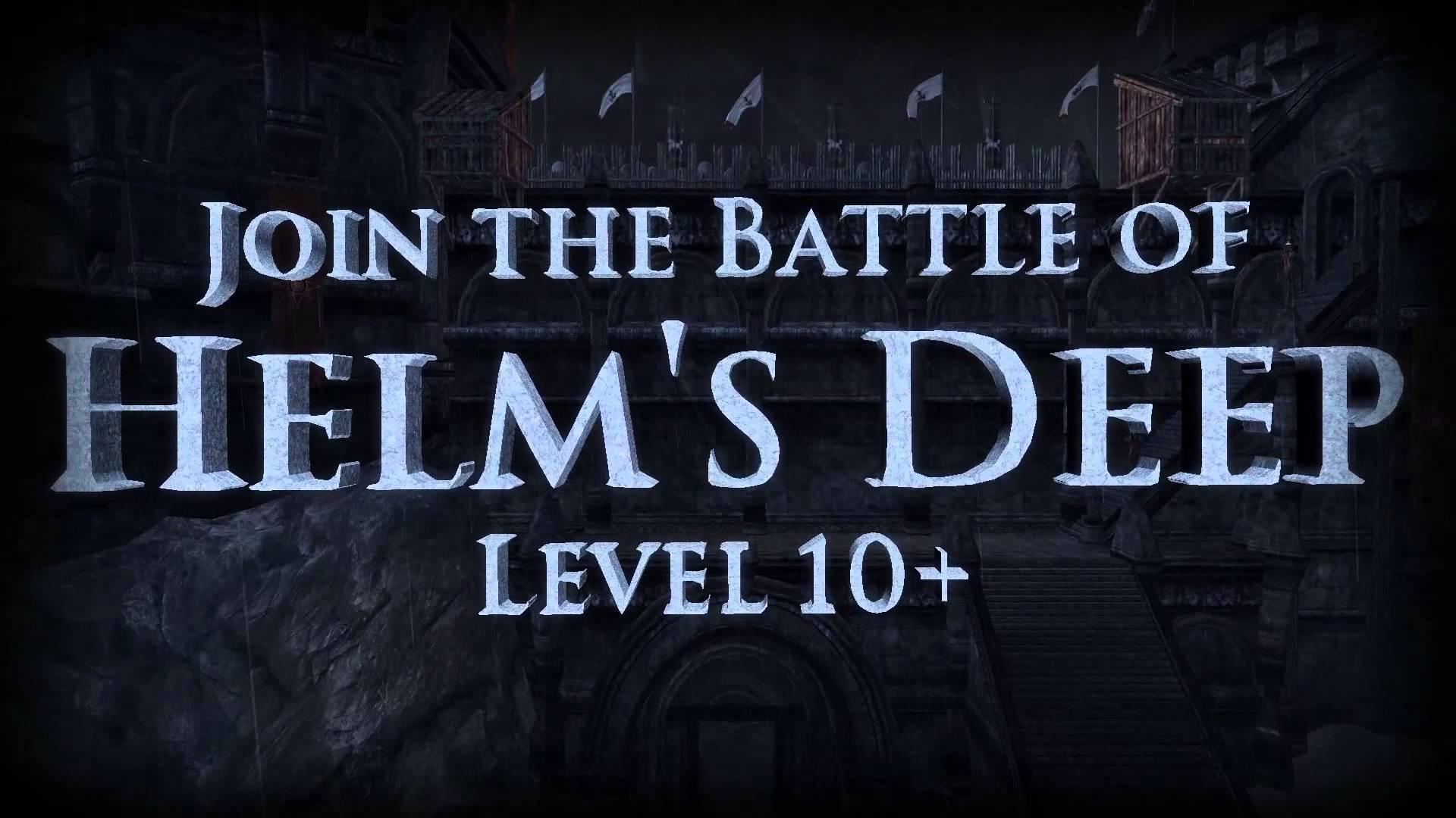 Trailer de lansare pentru The Lord of the Rings Online: Helm's Deep