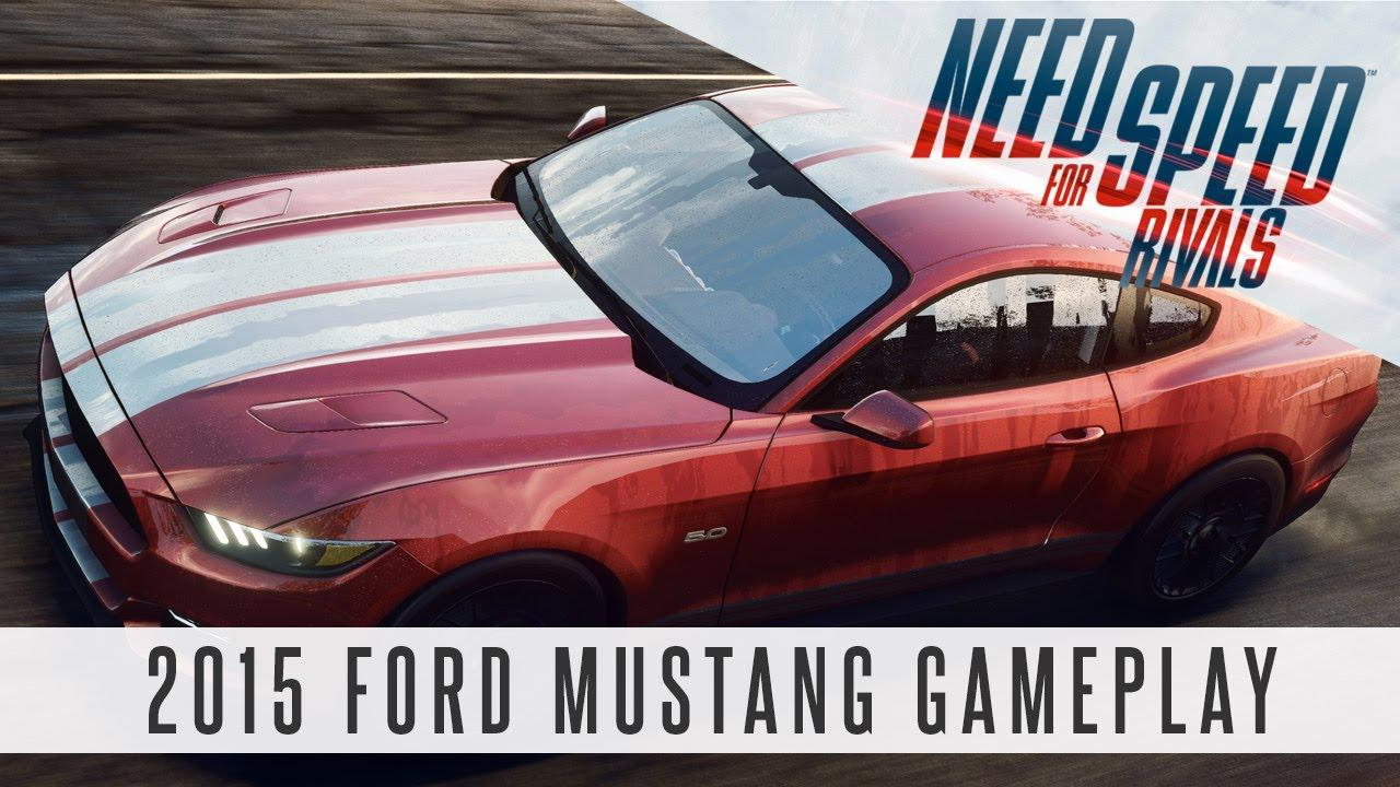 Gameplay pentru Need for Speed Rivals cu noul 2015 Ford Mustang