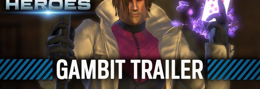 Marvel Heroes primește trailer de prezentare a puterilor lui Gambit