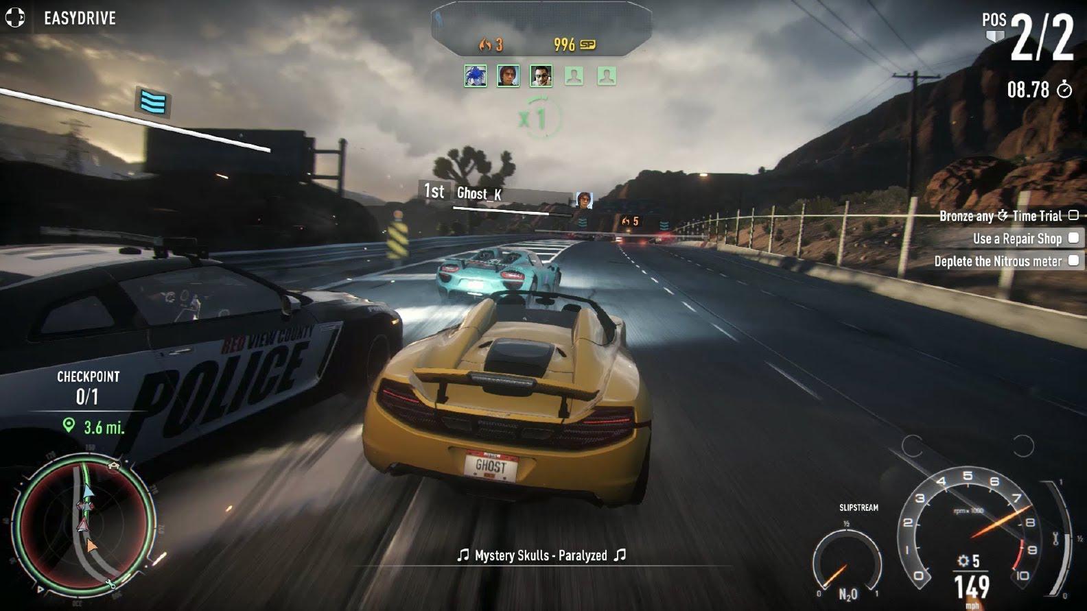 Need for Speed Rivals se laudă cu notele bune din recenzii în noul gameplay trailer