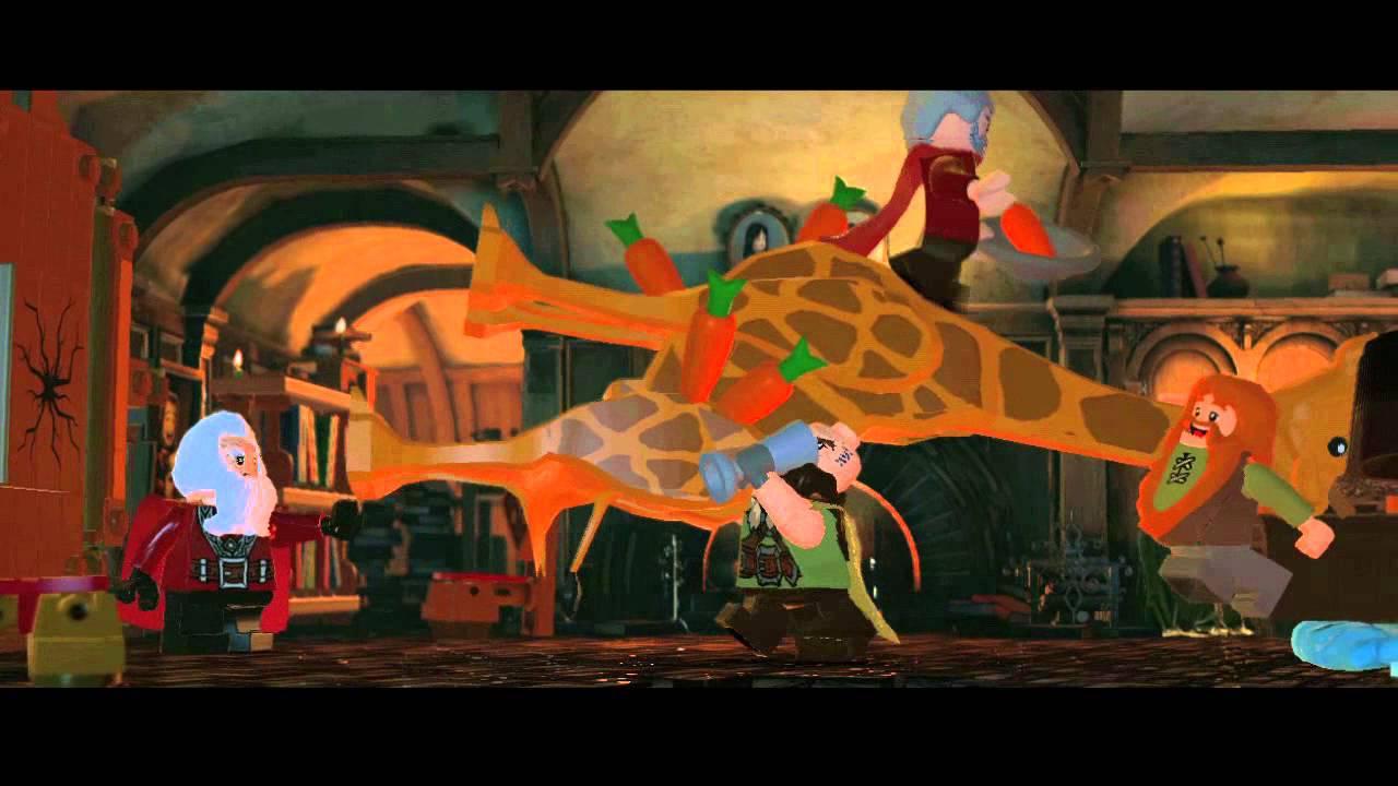 Trailer de anunțare pentru LEGO The Hobbit
