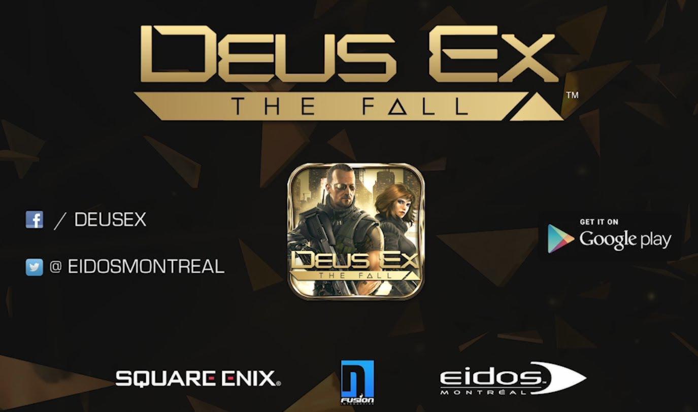 Trailer de lansare pentru Deus Ex: The Fall pe Android