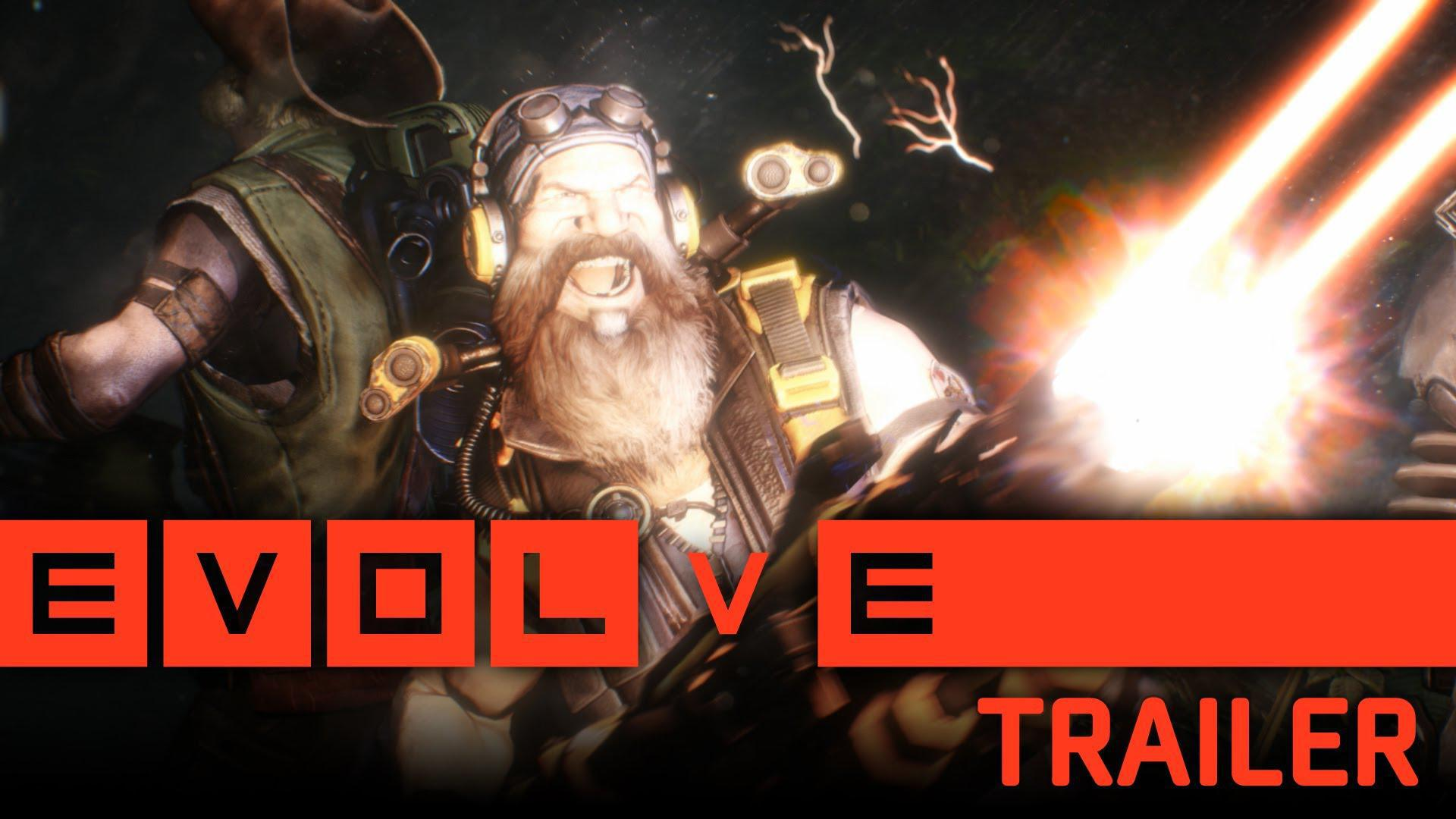 Evolve primește primul trailer intitulat Happy Hunting