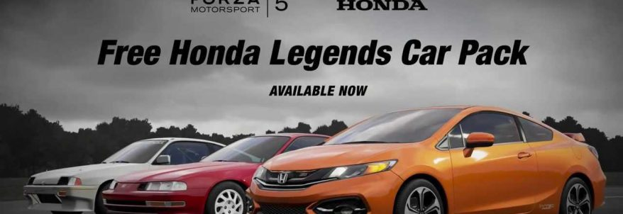 Honda Legends Car Pack pentru Forza Motorsport 5 primește trailer