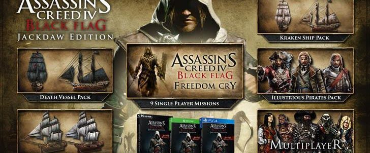 Ediția Jackdaw confirmată pentru Assassin's Creed 4: Black Flag