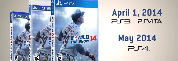 MLB 14: The Show va fi lansat pe 6 Mai pe PS4
