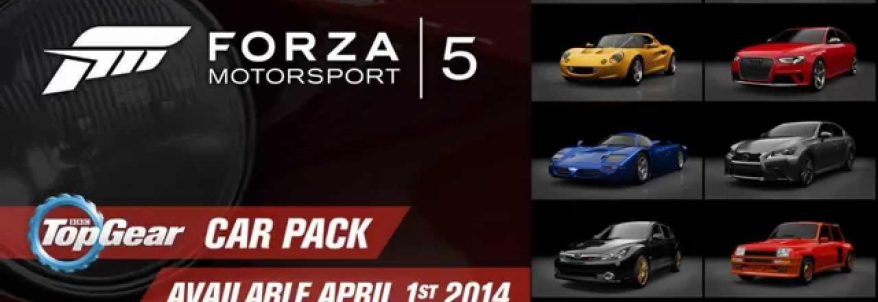 Trailer pentru Top Gear Car Pack din Forza Motorsport 5