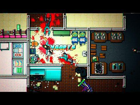 Gameplay plin de acțiune pentru Hotline Miami 2: Wrong Number