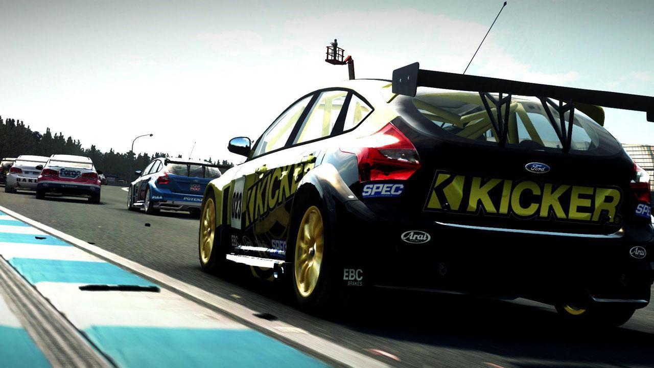 GRID Autosport primește traler de anunțare