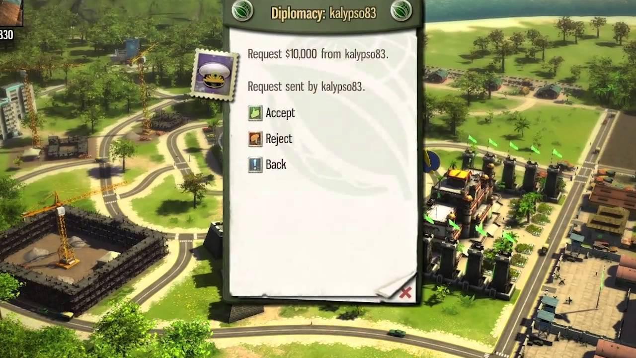 Trailer ce prezintă caracteristicile din multiplayer pentru Tropico 5