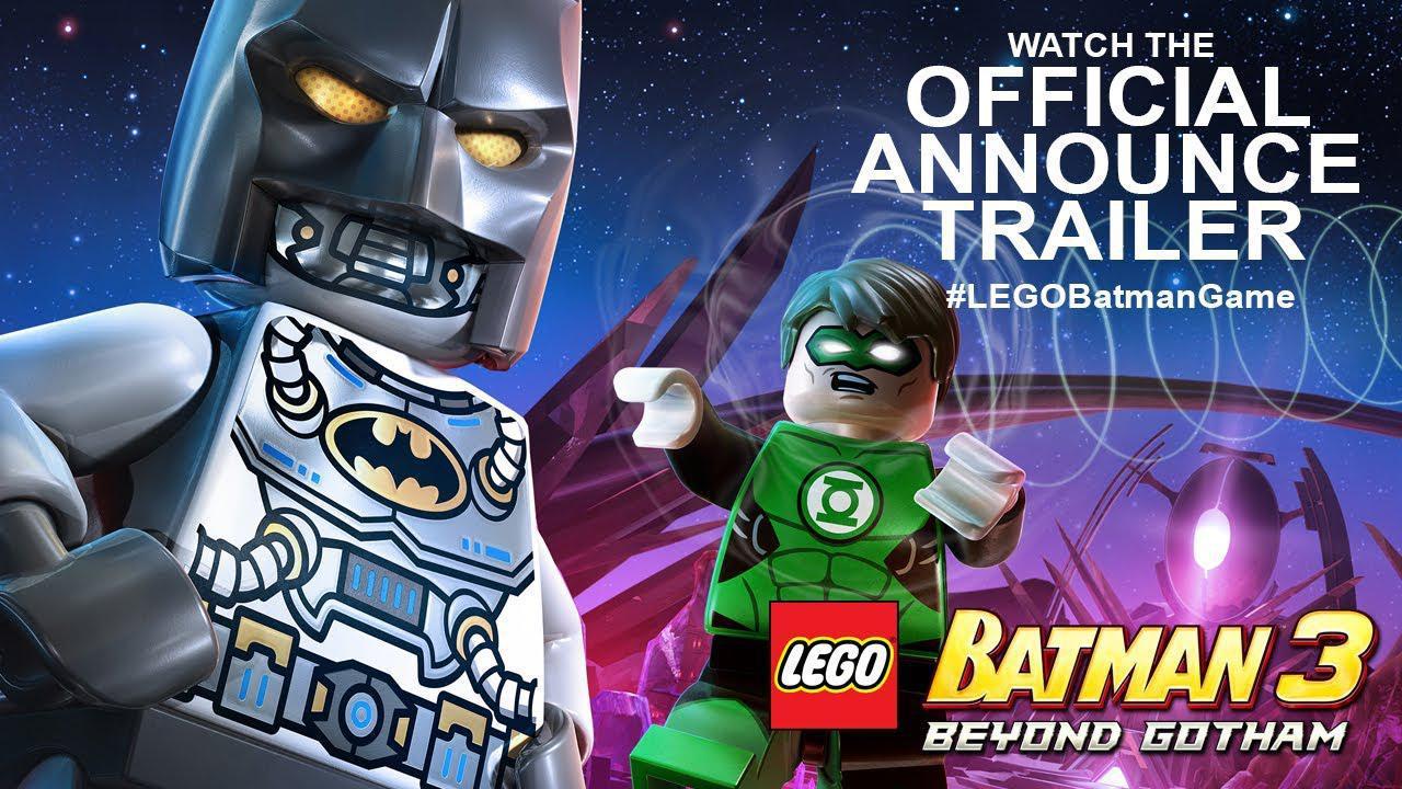 Trailer de anunțare pentru LEGO Batman 3: Beyond Gotham