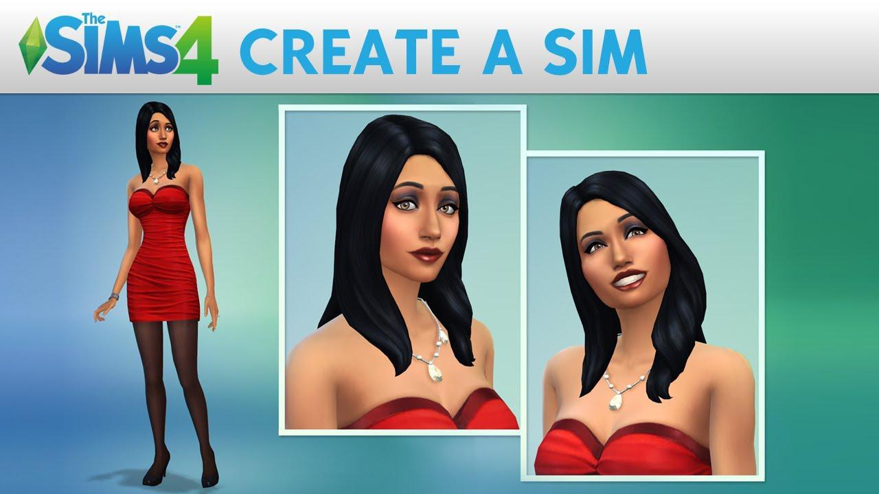 Trailer pentru The Sims 4 ce prezintă caracteristicile de creare a unui Sim