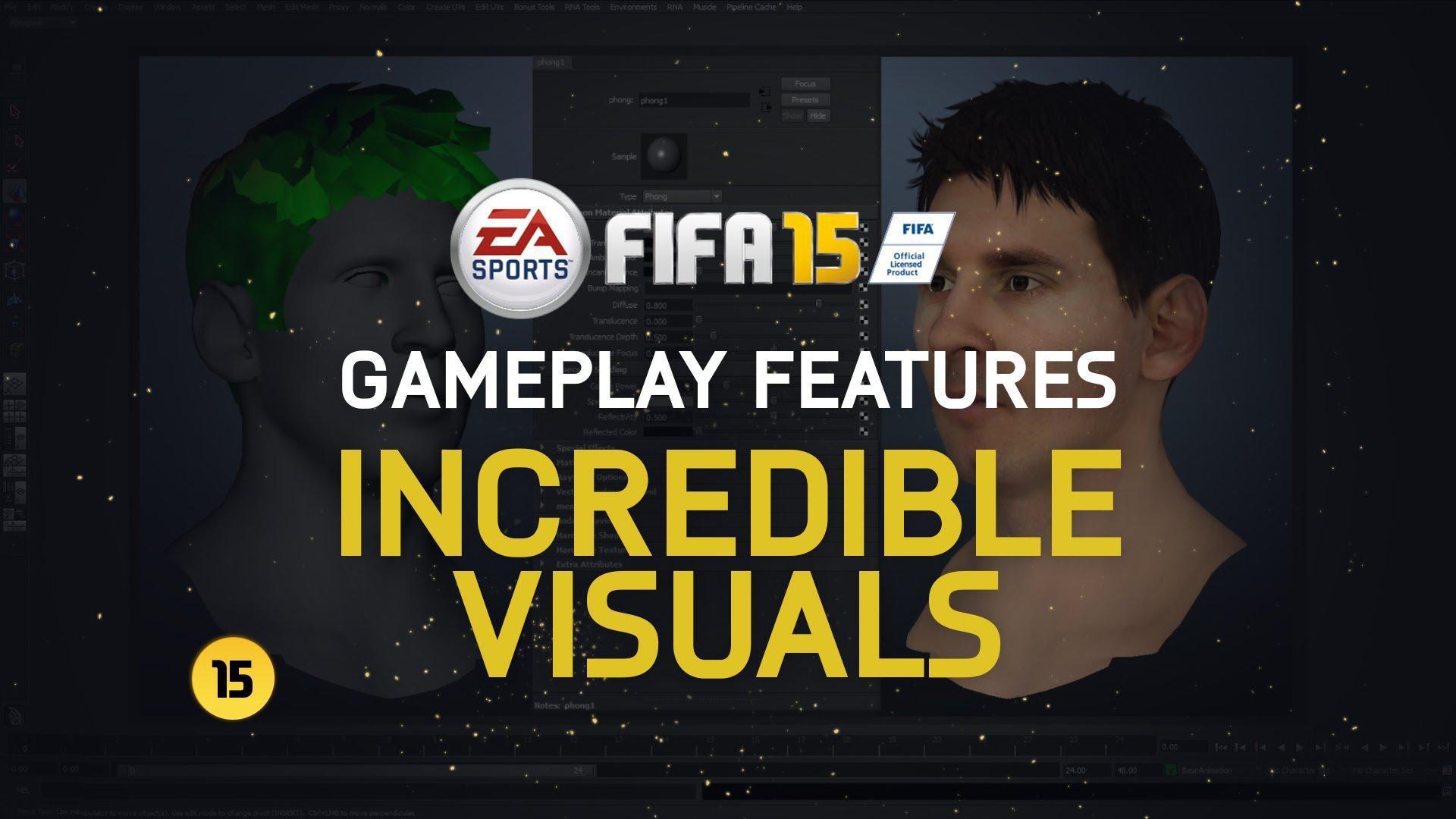 FIFA 15 primește gameplay ce prezintă caracteristicile vizuale