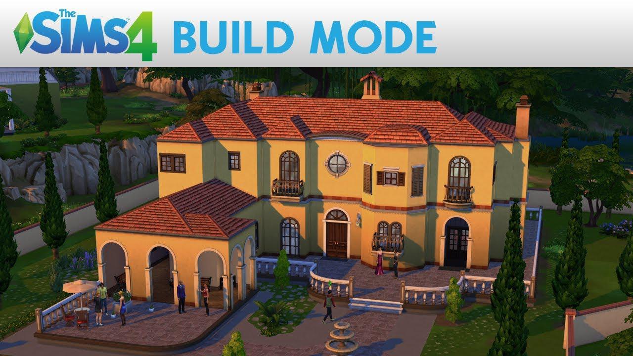 Gameplay ce prezintă modul de construcție din The Sims 4