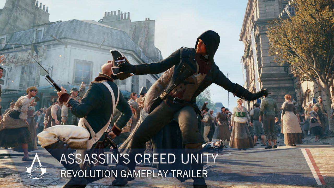 Assassin's Creed: Unity primește gameplay-ul revoluției