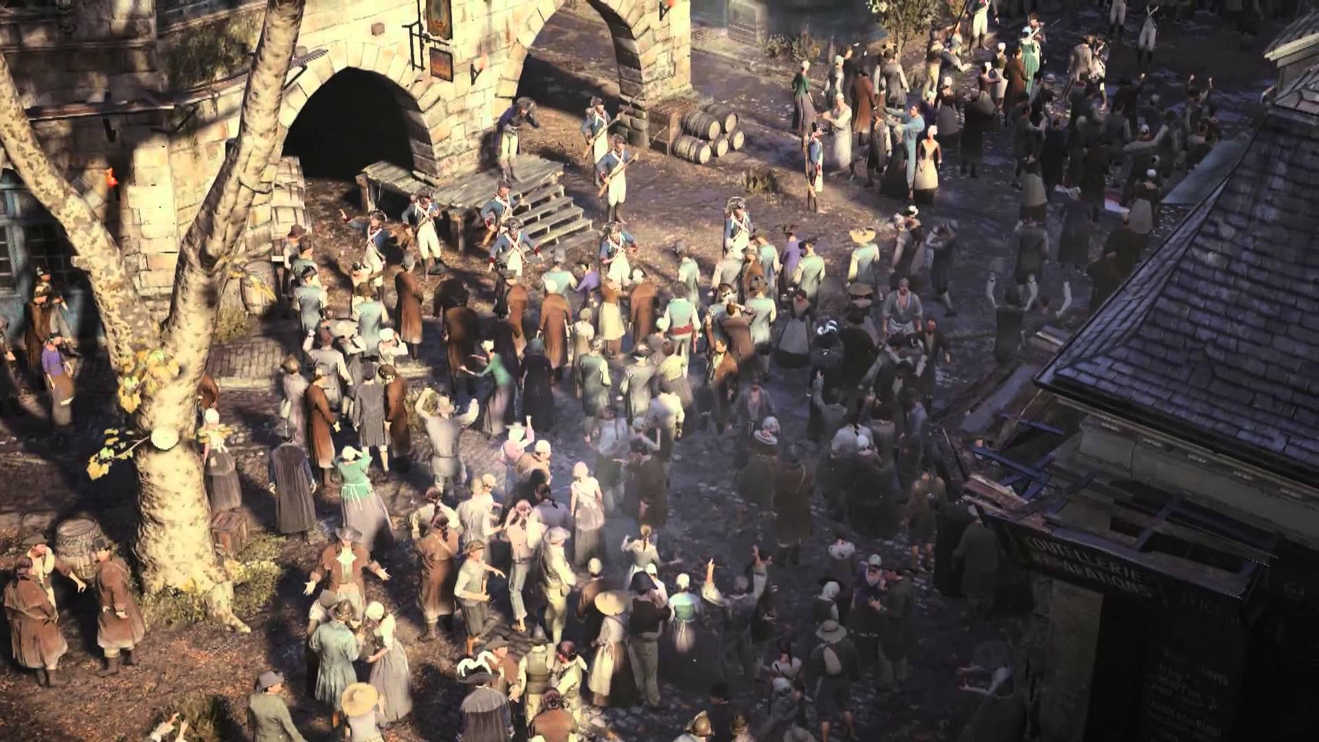 Assassin's Creed: Unity primește gameplay ce prezintă noul engine