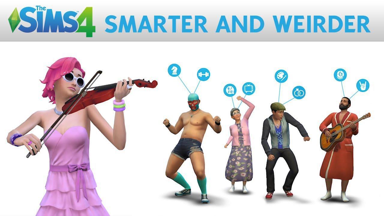 The Sims 4 primește un gameplay mai ciudat