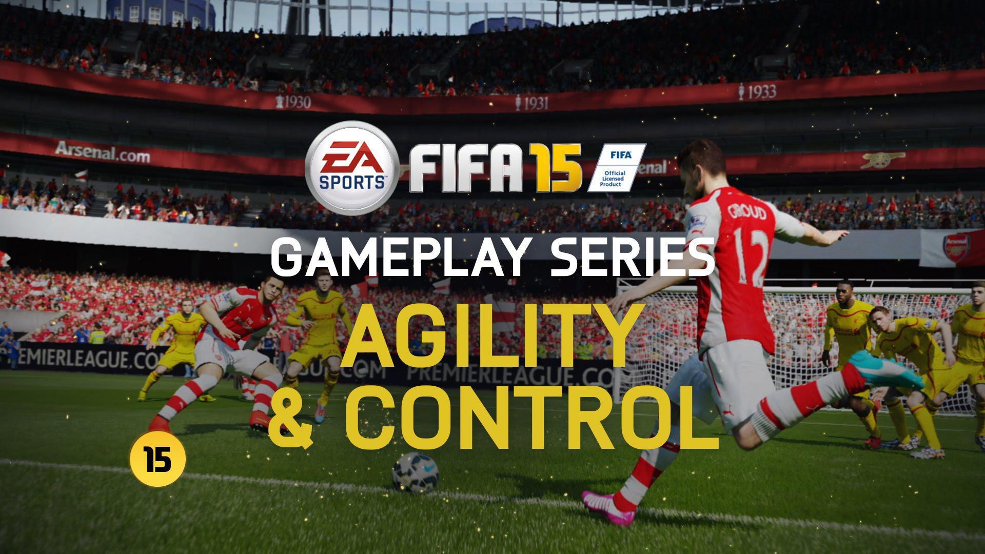 Noul trailer pentru Fifa 15 ne arată totul despre controlul mingii și agilitate